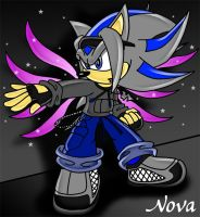 Nova the Hedgehog by TheStiv