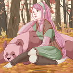 Forest dweller by Cookie-Kitteh