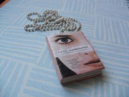Girl, Interrupted book necklace by InsaneJellyBean95