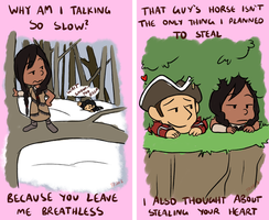 Assassin's Creed III: Haytham Valentines by forte-girl7