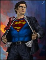 Clark Kent - Superman (Full) by SpideyVille