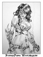 Witchblade Steam Punk By DW Miller by ConceptsByMiller