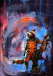 Rocket Raccoon by Namecchan