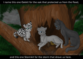 The Storm and the Oak by FrostedStarlight