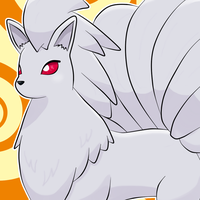 Shiny Ninetales icon by ChibiLyra