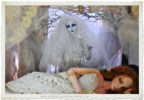 Breathless and Aurora Ball jointed doll by SutherlandArt
