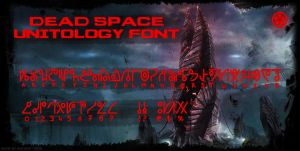 Dead Space Unitology Font by NickPolyarush