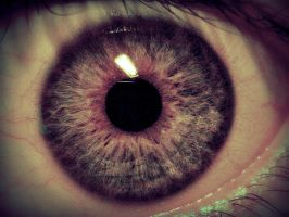 My eye by Hahhi