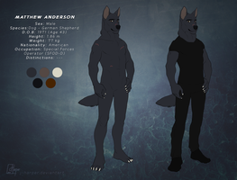 Matthew Anderson (Reference Sheet) by J-Harper