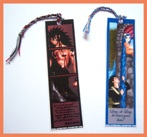Fairy Tail Bookmarks by IcyPanther1