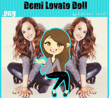 Demi Lovato Doll by RoohEditions