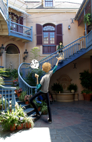 Portal 2: New Orleans Square, Disneyland by muminika