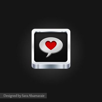 ios Love icon by rosesfairy