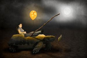 Turtle ride by PAulie-SVK
