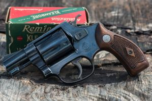 Smith and Wesson Pre Model 36 - Chiefs Special by PLutonius