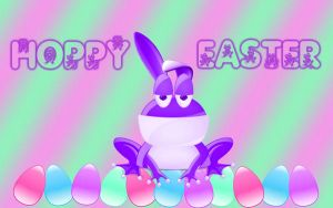 Hoppy Easter Frog by xXxDiamondxXx