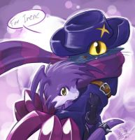Hold in my clawz by aun61
