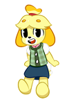 Isabelle! by DignitySquared