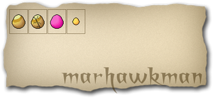 My new eggs by marhawkman