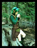 She is the Epic Saria by UndyingNephalim