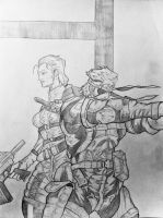 Loyalty to the End MGS3 by DiegoE05