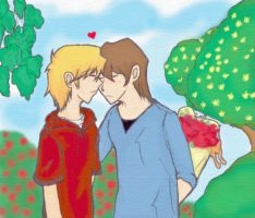 Beso de la Primavera by Chibi-the-small