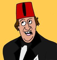 Tommy Cooper by Wzzkid94
