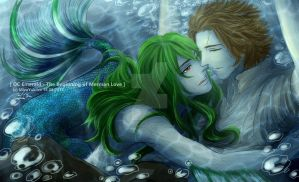 [OC] Emerald The Beginning of Merman Love resized by MizuYuKiiro