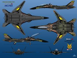 IFX-25A 6-View Aggressor Team by haryopanji