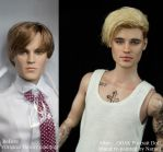 [ Justin Bieber ] OOAK Hand re-painted Tonner doll by naraedoll