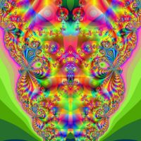 Fractal Head by 011Art