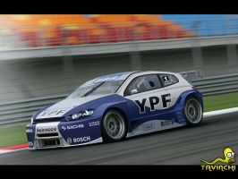 VW Scirocco Racing by Tavinchi