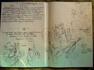 -keres september sketchbook