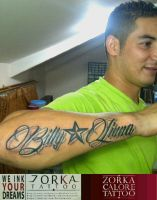 font1  by zorka calore tattoo by surfboyz12