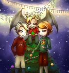 Merry Christmas by ClassicalNocturne