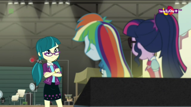Rainbow dash and Sci-Twi meet juniper Montage by Gouhlsrule
