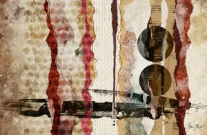 Torn Paper Abstract by StarwaltDesign