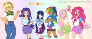 MLP EQG Alt Colors by dan-heron