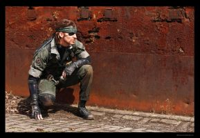 Metal Gear - Naked Snake Sneaking by RBF-productions-NL