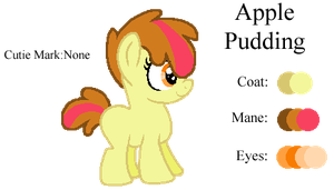 MLP:Apple Pudding Profile by kiananuva12