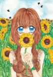 Sunflower Mouth by Yuuricchin