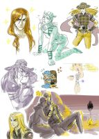 SBR doodles 2 by Asiulus