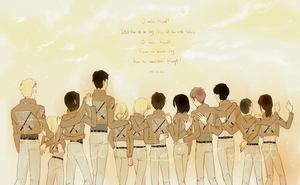 Attack on Titan - 104th by indime