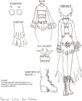 Fuku Design for Cakey by Wildnature03