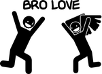 """Bro Love"" AG T-Shirt by Tal1n"
