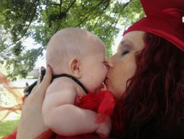 A hardworking single mom, graduated! by CrypticGrin