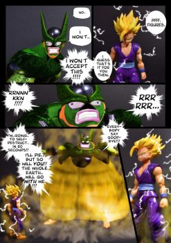 Cell vs Gohan Part 5 - p9 by SUnicron