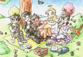 A funny picnic day by Myaco