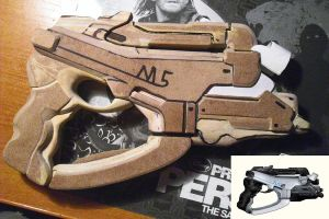 M5 Phalanx-Mass Effect pistols by ReplimaK