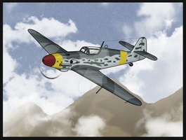 Veera- Bf-109G-10 by TheAngryFishbed